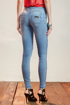 Calça Jeans Na Base Lif U Up