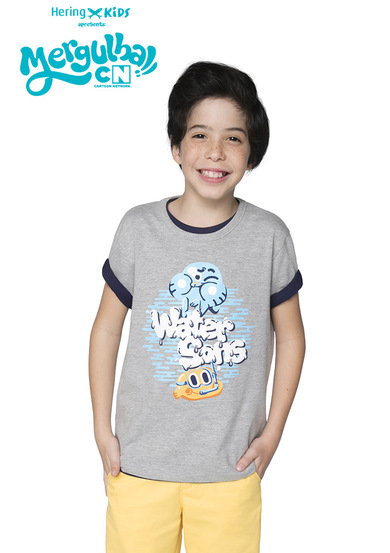 Camiseta Infantil Menino  Hering Kids E Cartoon Network | Hering
