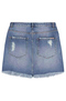 Saia Jeans Curta Destroyed | Outlet