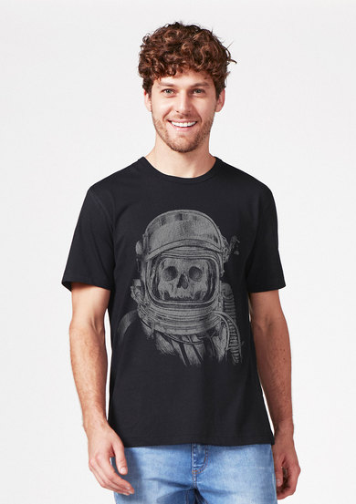 Camiseta Manga Curta Estampada Pop | Hering
