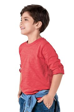 Camiseta Infantil Essencial - Unissex | Outlet