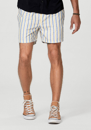 Shorts Praia Masculino Regular Estampado | Hering