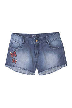 Shorts Summer Jeans Feminino Hering Com Patches | Outlet