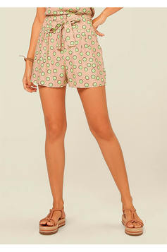 Shorts Clochard Estampado | Outlet