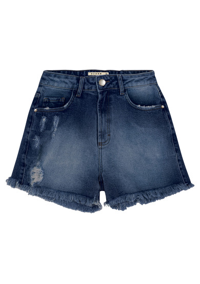 Shorts Jeans Eco Destroyed | Dzarm