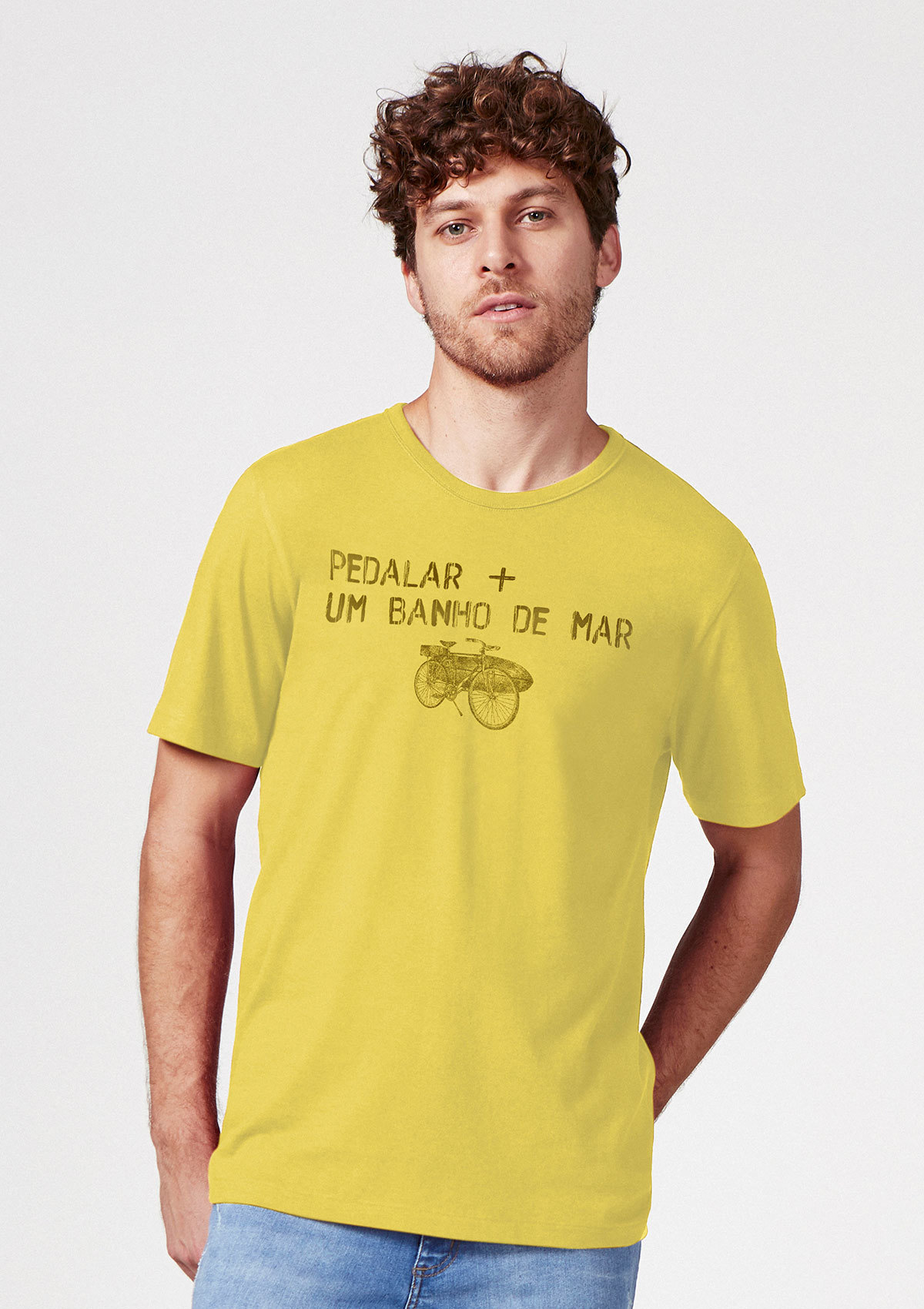Camiseta Unissex Manga Curta Estampada Pop