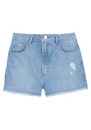 Shorts Em Jeans Eco Denim