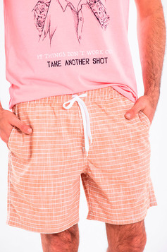 Shorts Masculino Estampado Com Bolsos | Outlet