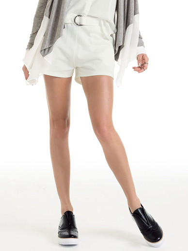 Shorts Feminino Hering For You Com Fivela