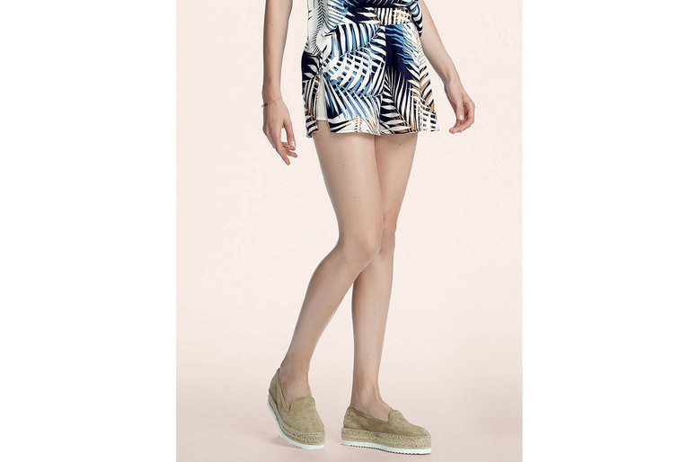 Shorts Estampado Em Tecido De Viscose Hering For You | Foryou