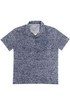 Camisa Polo Masculina Hering Malha Com Efeito Jeans | Outlet
