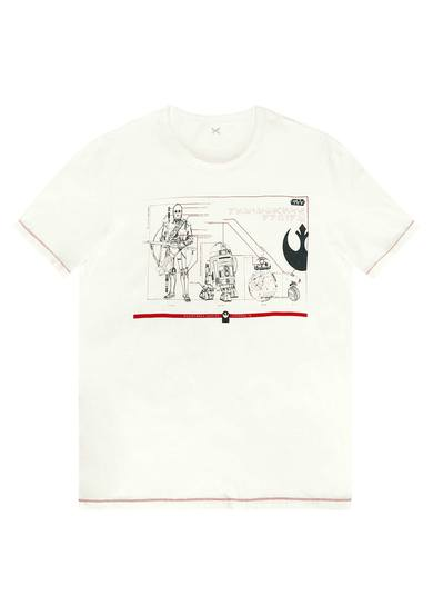 Camiseta Manga Curta Star Wars | Hering