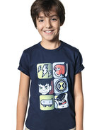 Camiseta Infantil Menino  Hering Kids E Cartoon Network