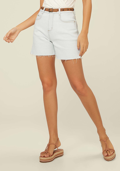 Shorts Jeans Base Pin Up Loose | Dzarm