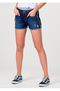 Shorts Jeans Feminino Com Detalhes Destroyed Eco Jeans | Outlet