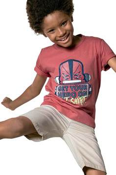 Camiseta Infantil Menino  Hering Kids E Cartoon Network | Outlet