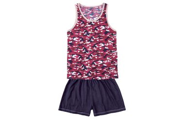 Pijama Feminino Hering For You Com Regata E Shorts